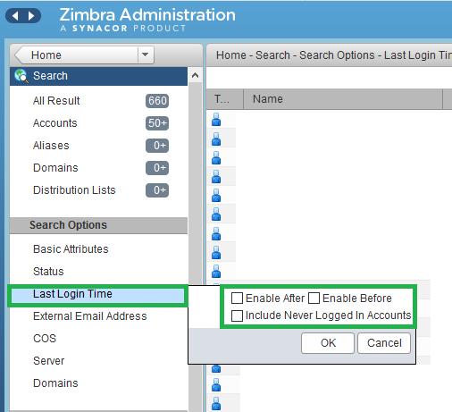 saadwebid - Export List User Status Login WebClient Zimbra -2