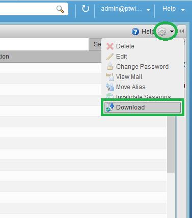 saadwebid - Export List User Status Login WebClient Zimbra -3
