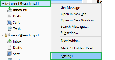 Create New Folder di Webclient Tidak Tampil di Thunderbird